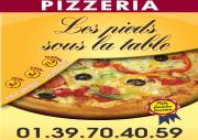 Les Pieds Sous La Table Pizzeria Triel Sur Seine 78510 Commande Pizzas