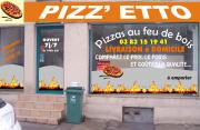 Pizzetto au feu de bois