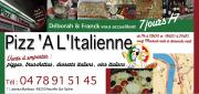 Pizz'à L'italienne