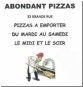 Pizzeria Abondant Pizza